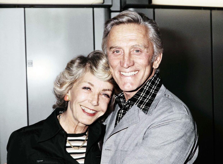 Kirk Douglas levede lykkeligt til sine dages ende med sin anden kone Anne.
