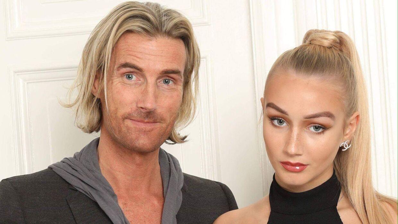 Jens Østergaard og datter Alva Madsens forhold bliver portrætteret i DR-programmet 'Fars pige'.