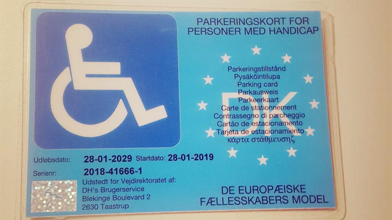 Handicapkortet.
