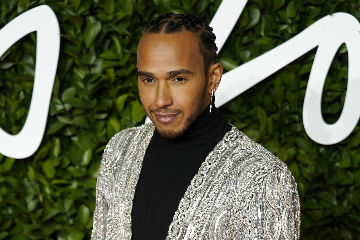 Lewis Hamilton ved Fashion Awards i London i starten af december.