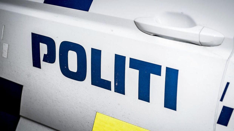 Arkivforo af politibil
