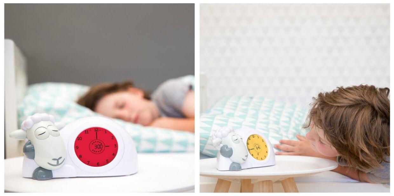 Søvntræner til børn hvor tidsforståelsen endnu ikke er fuldt udviklet.