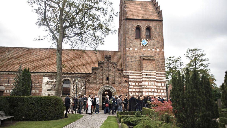 Gladsaxe kirke. Genrefoto.