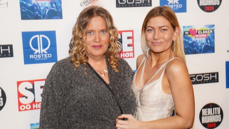 Pernille Nygaard og Mor-Jane.