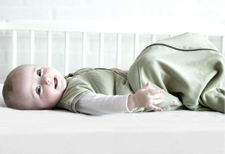 Tyngdeposen hjælper med at få dit barn til at falde i søvn.