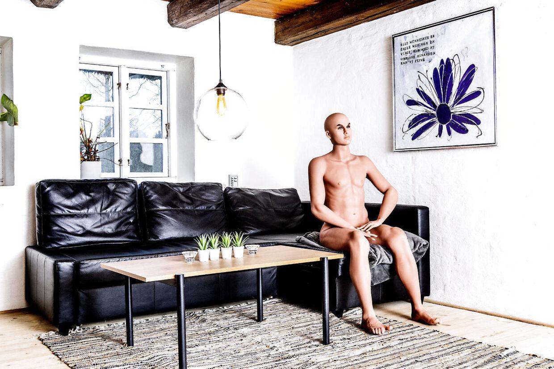 Den mandlige dukke Hans er seneste skud på stammen i sexdukkebordellet. Han henvender sig både til kvinder og homoseksuelle. Ligesom de andre dukker er han lavet af TPE (termoplastik elastomer) og rustfrit stål.