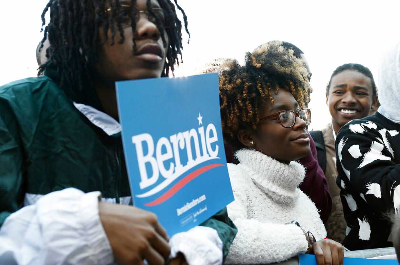 Bernie Sanders-supporters.