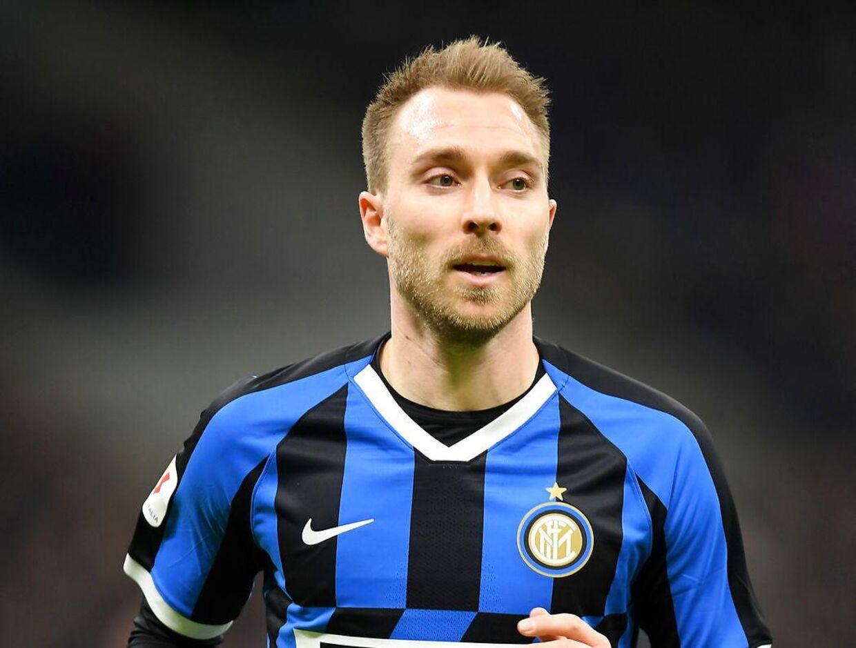 Soccer Football - Coppa Italia - Inter Milan v Napoli - San Siro, Milan, Italy - February 12, 2019 Inter Milan's Christian Eriksen REUTERS/Daniele Mascolo