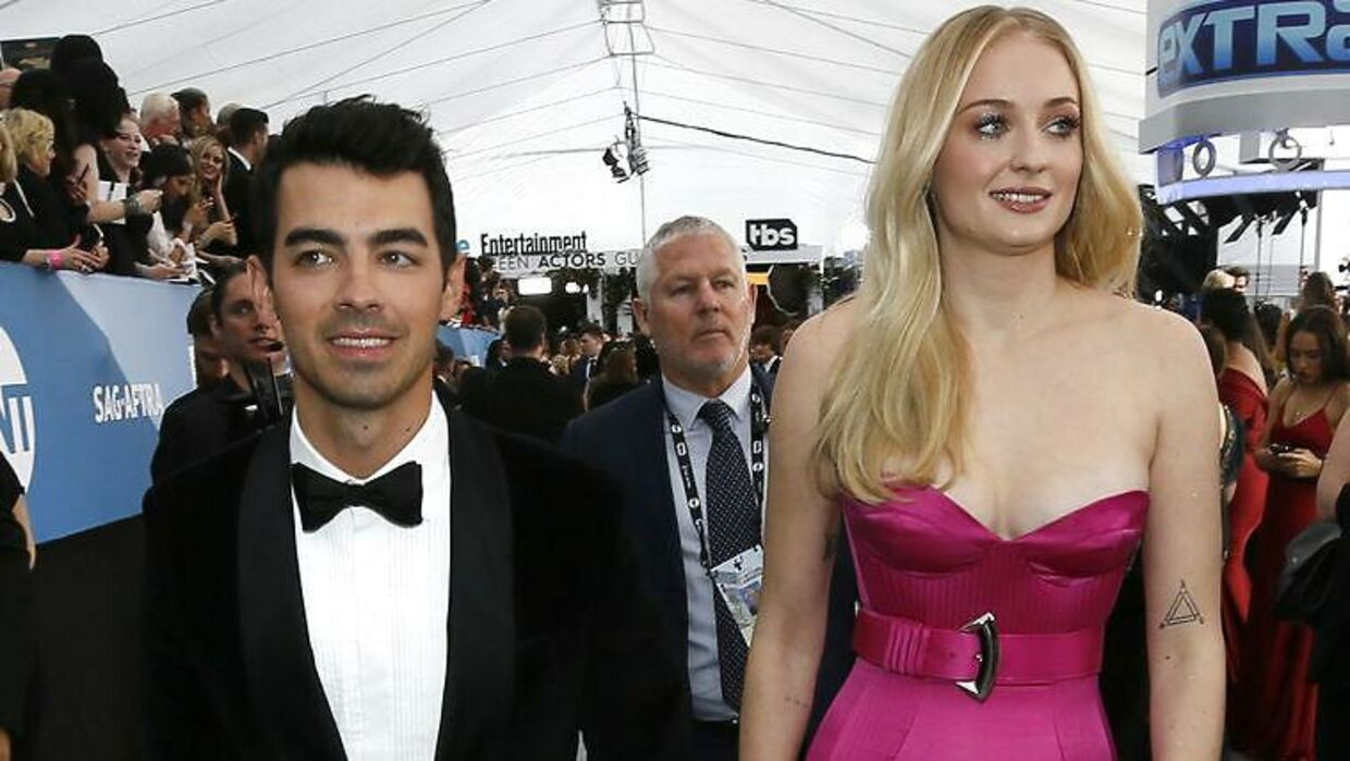 Joe Jonas og Sophie Turner.
