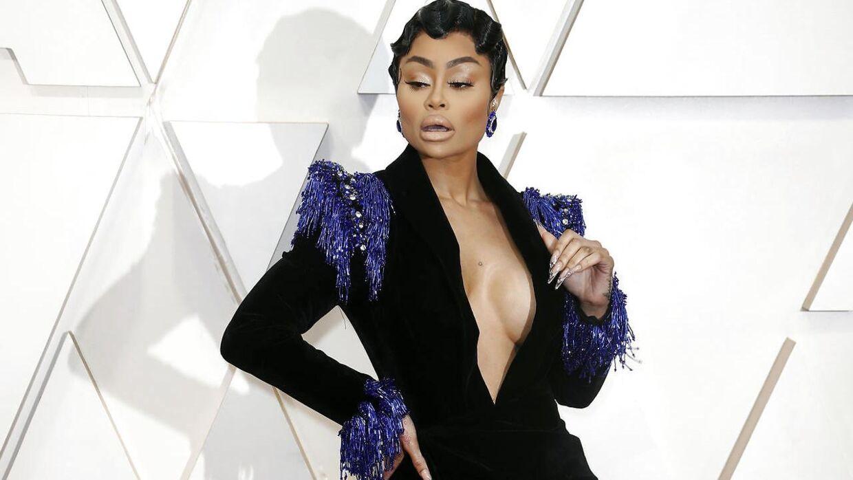 Blac Chyna nægter at have været voldelig mod eksmanden, Rob Kardashian.