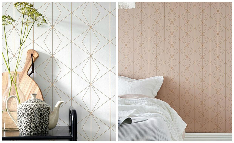 Tapet med flotte mønstre er en stærk boligtrend i dette år.