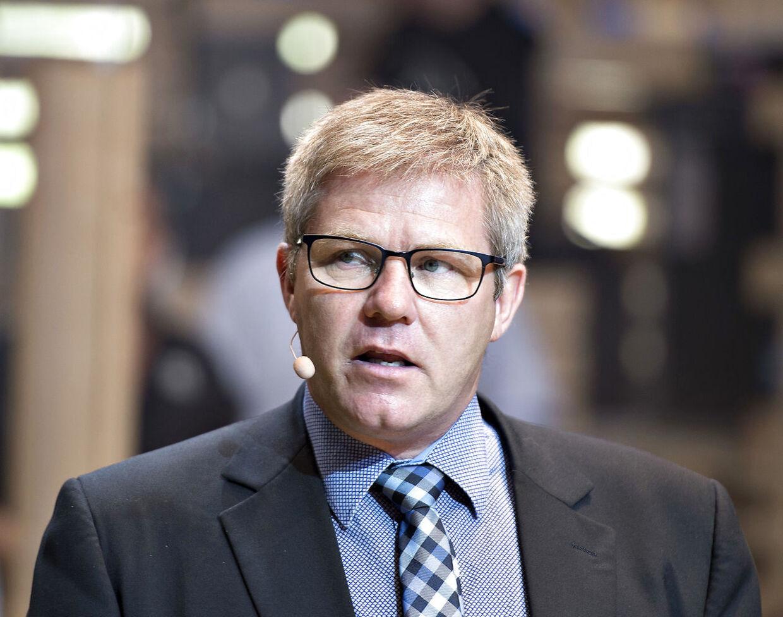 Hjørrings borgmester, Arne Boelt, fortæller, at han ikke vil fortsætte som borgmester, hvis regeringen kommer igennem med sit udspil til en ny udligningsreform. (Foto: Henning Bagger/Ritzau Scanpix)