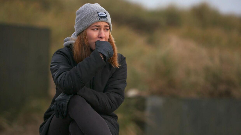 15-årige Mathilde Caffey blev mobbet, da hun var yngre, hvilket har sat sine spor.