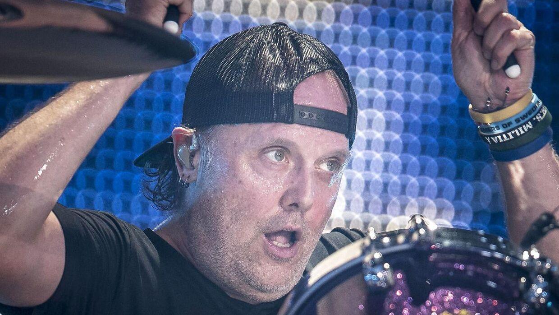 Lars Ulrich og Metallica i Parken, København, torsdag den 11. juli 2019.