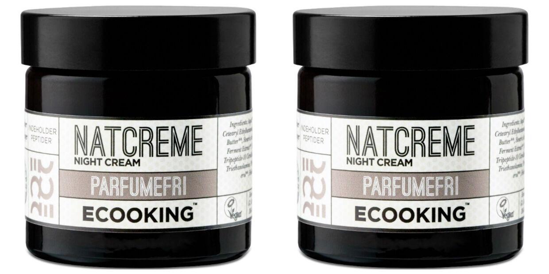 Parfumefri natcreme fra Ecooking