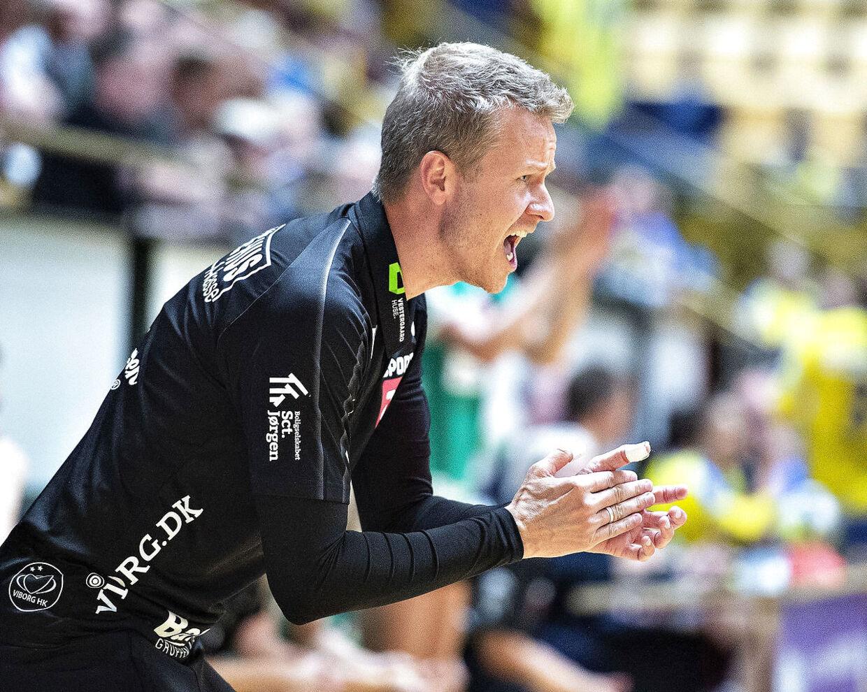Allan Heine er træner i franske Nantes Atlantique Handball.