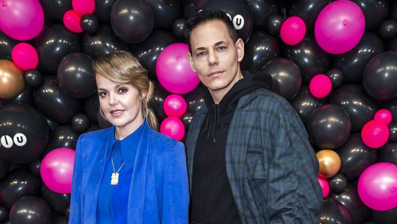 Lina Rafn og Paw Lagermann til Zulu Awards 2020.