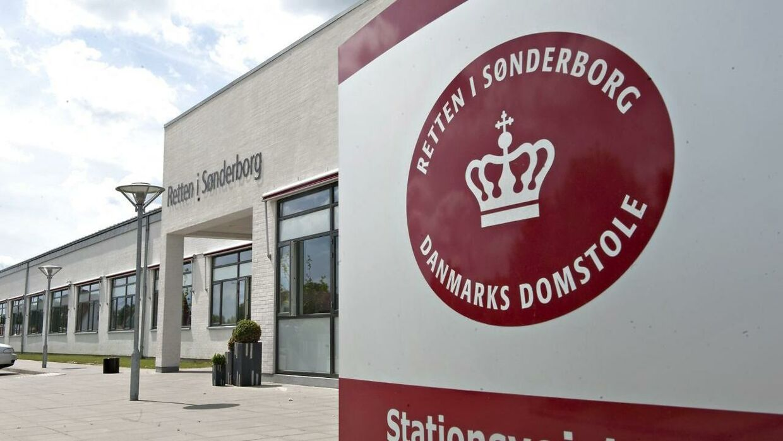 Retten i Sønderborg. Arkivfoto.