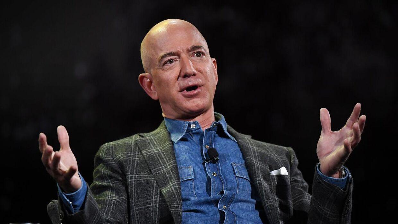 Jeff Bezos stiftede Amazon tilbage i 1994.