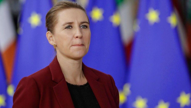 Mette Frederiksen er ikke begejstret ved tanken om, at Danmark skal betale mere for at være med i EU.