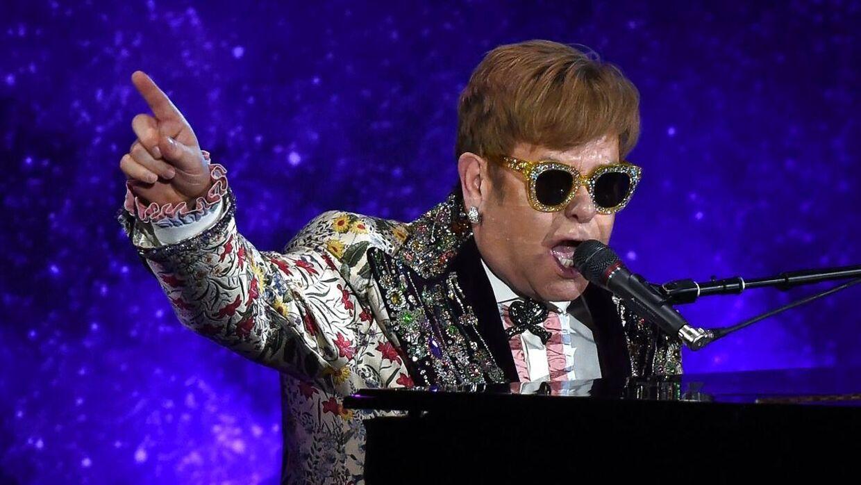 Elton John spillede i Danmark to gange i 2019. D. 18. maj og 6. juni - begge gange i Royal Arena i København.