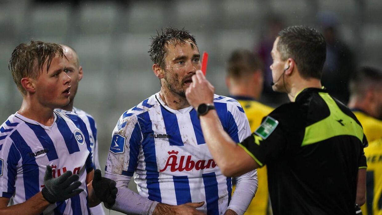 Oliver Lund gjorde intet godt for OB mod Brøndby.
