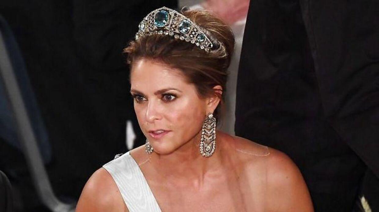 Arkivfoto af den svenske prinsesse.