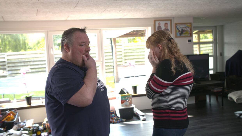 Heidis overforbrug fik tårerne frem. Foto: NENT GROUP/Viaplay og TV3.