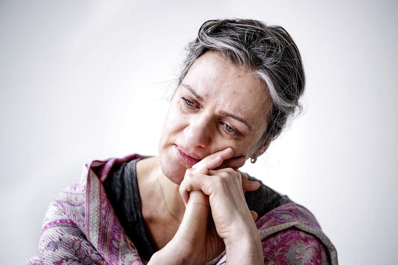 Kristine Misane fra Letland, sidder varetægtsfængslet i Vestre Fængsel i Danmark (siden 9. dec 2018) og nu skal udleveres til retsforfølgelse i Sydafrika, fordi hun har bortført sin og sin sydafrikanske eksmands fælles datter på i dag fire år til Letland. Her er Kristine Misane fotograferet i Vestre Fængsels besøgsrum.