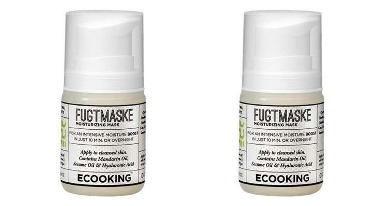 Fugtgivende ansigtsmaske fra Ecooking.