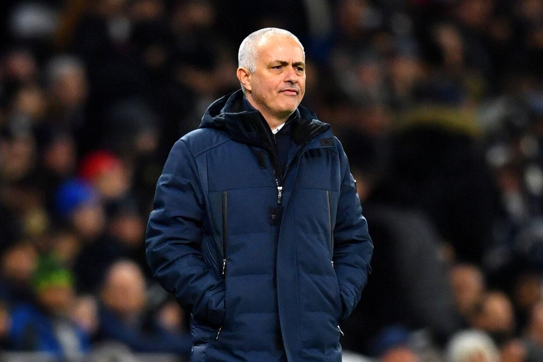 José Mourinho savnede tungere skyts fra bænken i Champions League-dysten mod RB Leipzig. Dylan Martinez/Reuters