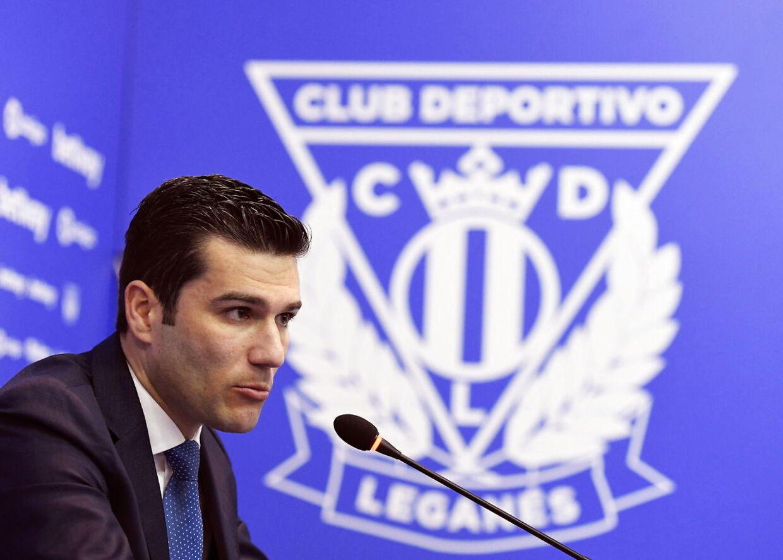 Leganés-direktør Martín Ortega.