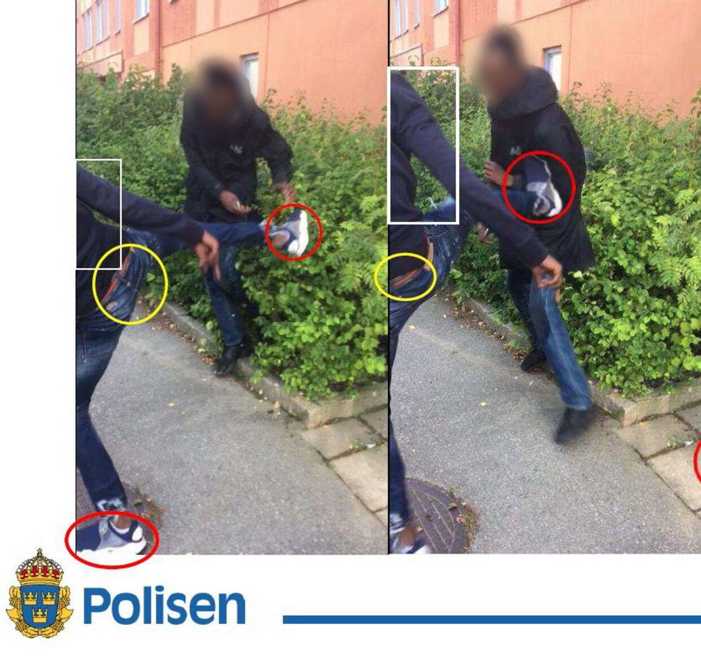 En af lederne af banden Dødspatruljen - Mohamaed Abdigahni Ali, der nu også er kendt skyldig i dobbeltdrabet i Herlev - er tidligere i Sverige idømt fire månders fængsel for bl.a. at have slået, sparket og tisset på sit offer. Politifoto