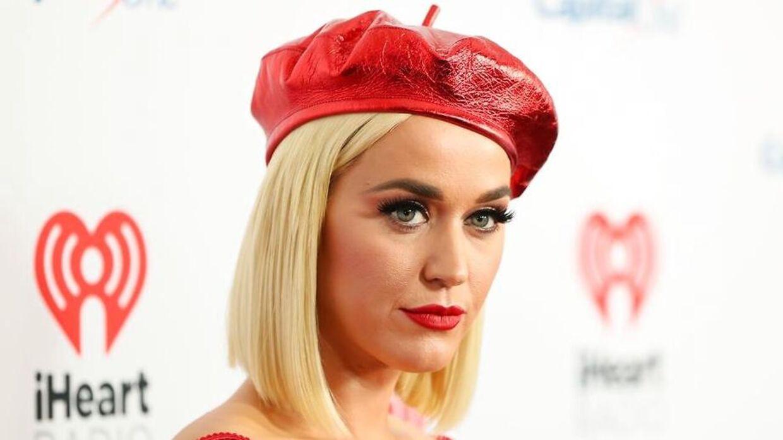 Her Katy Perry fotograferet i december 2019.