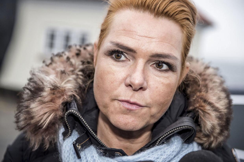 Venstres næstformand, Inger Støjberg, kalder det helt afgørende at få domstolene med i forliget, hvis ofrenes ventetid skal gøres kortere. (Foto: Mads Claus Rasmussen/Ritzau Scanpix)