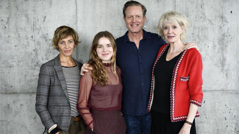 Laura Drasbæk, Laura Kjær, Peter Mygind og Lisbet Lundquistspiller alle sammen en del af familie Sommerdahl, der er hovedfokus i den nye krimiserie.