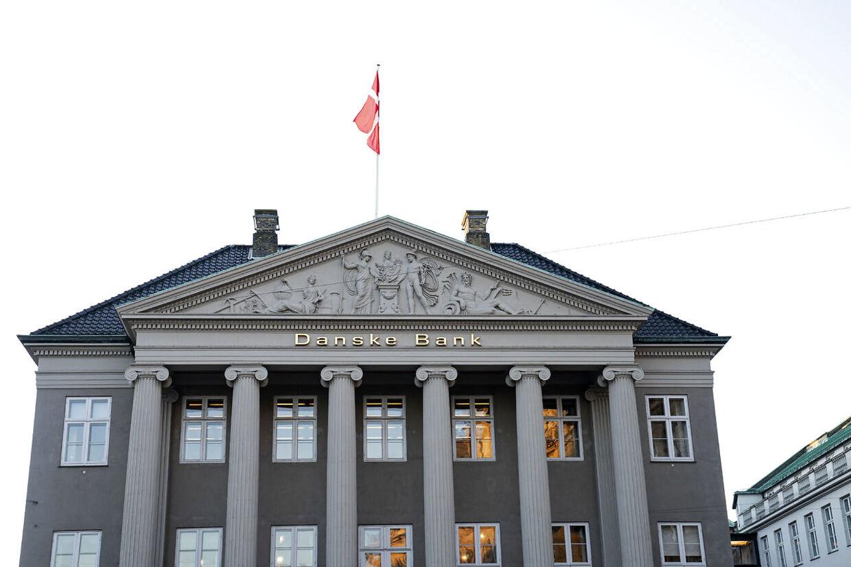 Danske Bank kommer med årsregnskab og holder pressemøde i København, onsdag den 5. februar 2020. Danske Bank kommer med regnskabstal for 2019 - året, da topchef Chris Vogelzang overtog roret i banken efter hvidvaskskandalen i Estland.. (Foto: Ida Guldbæk Arentsen/Ritzau Scanpix)