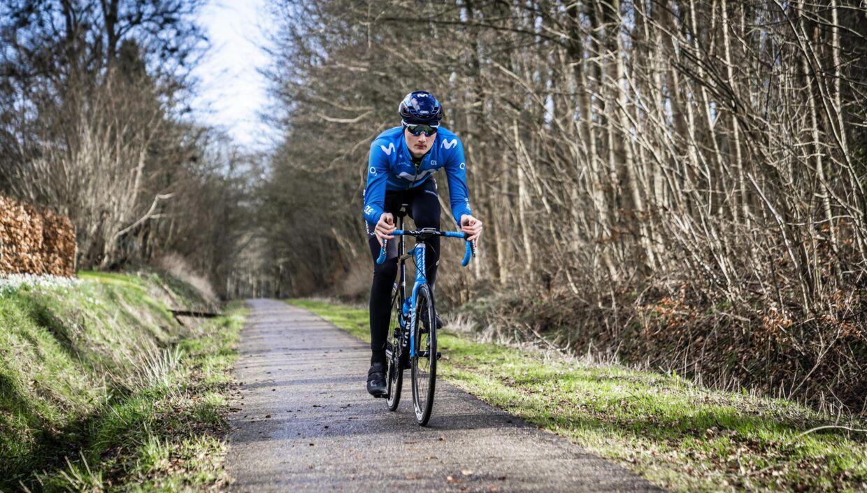 Mathias Norsgaard cyklede en kort tur i 45 minutter.
