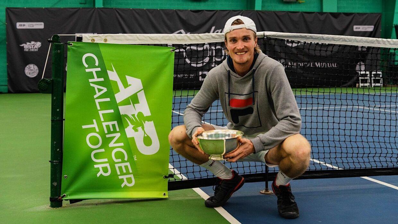 Michael Torpegaard vandt søndag sin tredje Challenger-titel i karrieren.