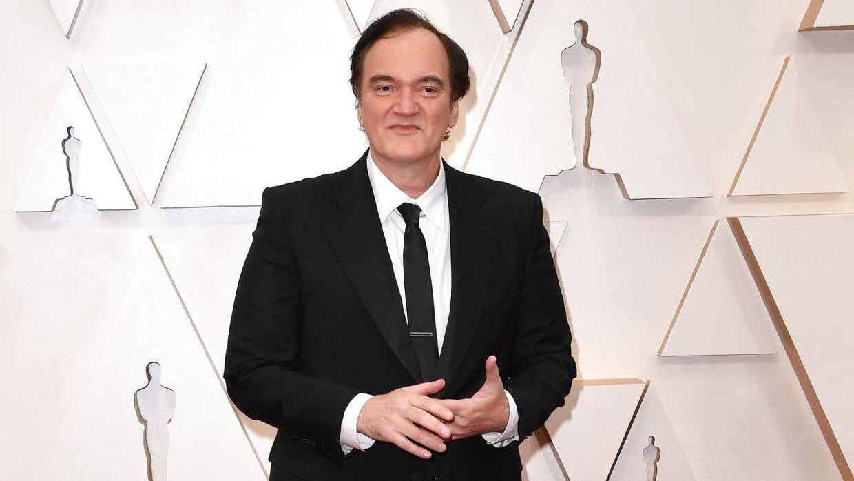 Quentin Tarantino er blevet far i en alder af 56 år.