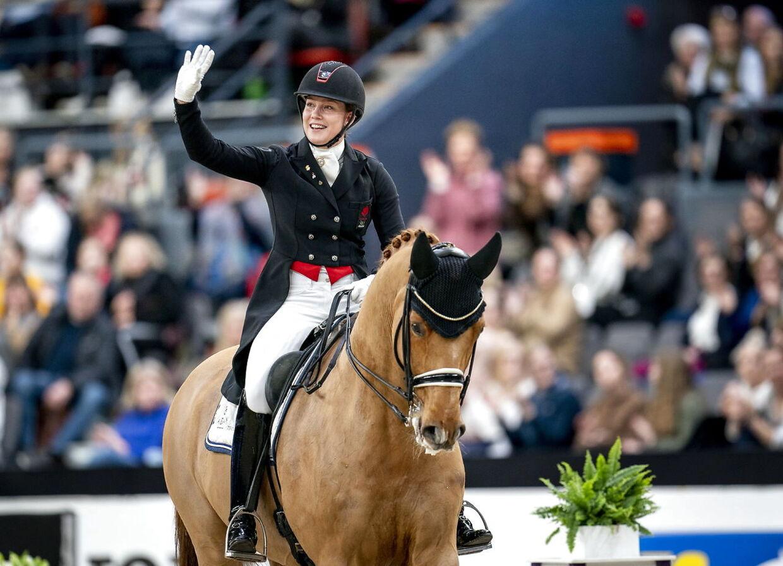 Cathrine Dufour er glad efter sin sejr i Sverige.