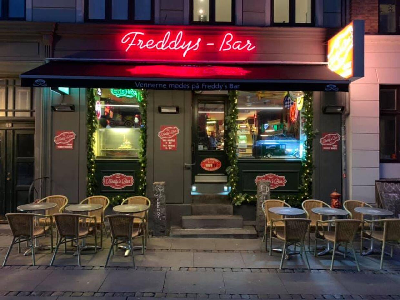 Freddys Bar på Gasværksvej på Vesterbro i København.