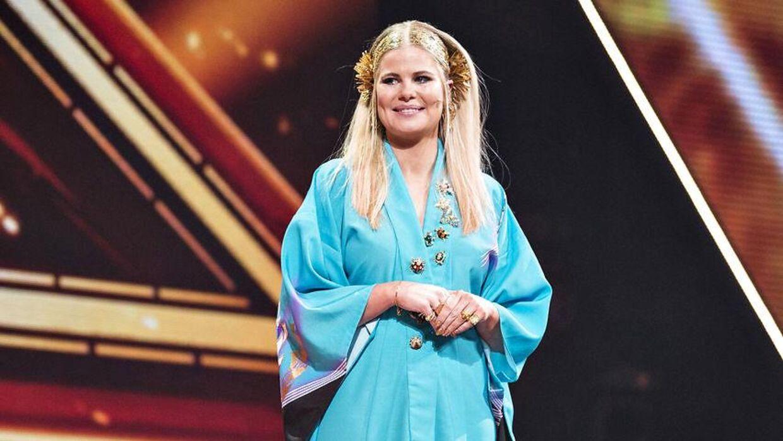 Her ses Linde i 2017 med endnu et af sine farverige outfits. (Foto: Ida Guldbæk Arentsen/Scanpix 2017)