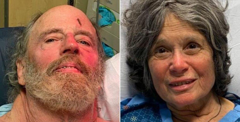 Ian Irwin og Carol Kiparsky var faret vild i over en uge i en skov i Californien.