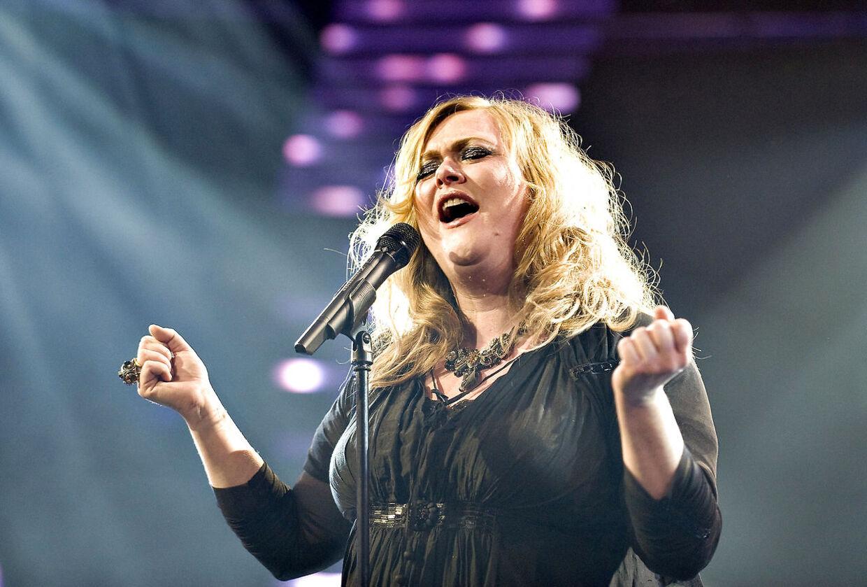 Marie Carmen Koppel i Dansk Melodi Grand Prix 2009.