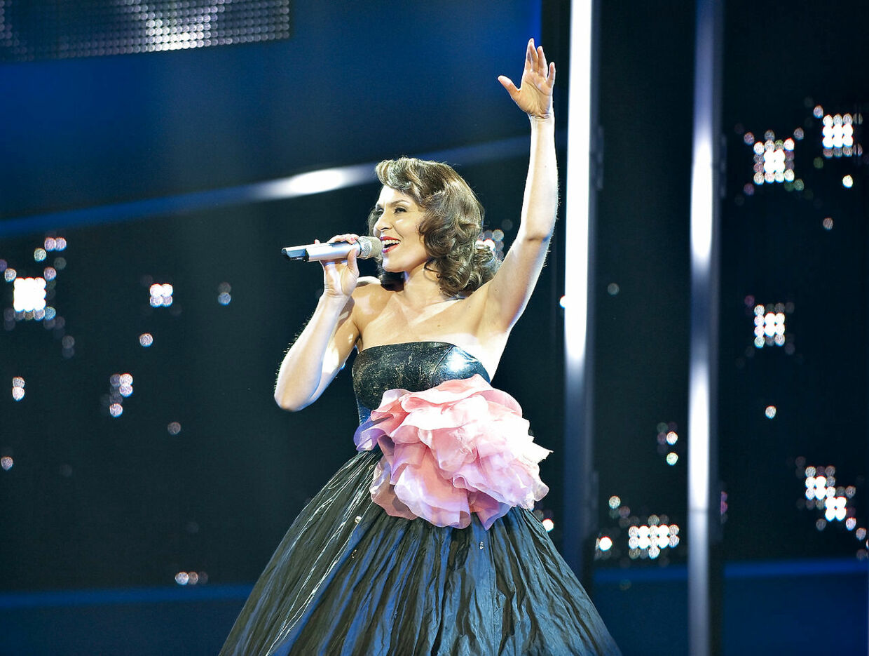 Kaya Brüel til Dansk Melodi Grand Prix 2010.
