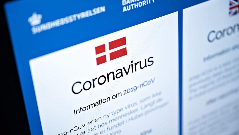 Sundhedsstyrelsen udsender plakater og informationsmateriale om coronavirus til danske lufthavne, fredag den 7. februar 2020.