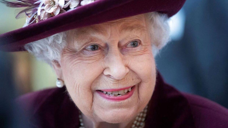 Dronningen her fotograferet 25. februar.