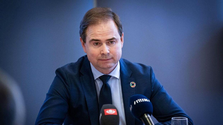 (ARKIV) Finansminister Nicolai Wammen (S)