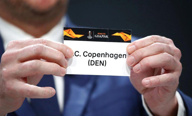 FC København blev trukket op som nummer to ved dagens lodtrækning.